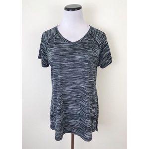 Tek Gear Space Dye Short Sleeve V-Neck T Shirt